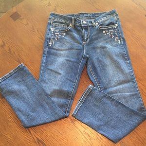 Code Blue Maya Slim Straight Jeans size 8P